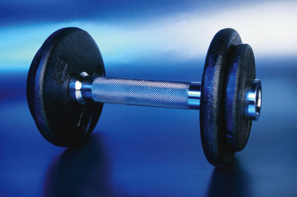 a dumbell
