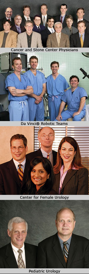 the Metro Urology staff doctors