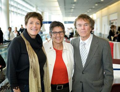 Norwegian explorer Liv Arnesen with Minnesota explores Ann Bancroft and Will Steger