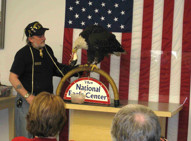 National Eagle Center in Wabasha