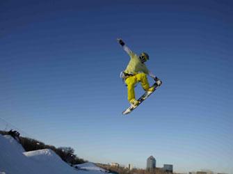 Minnesota snowboarder