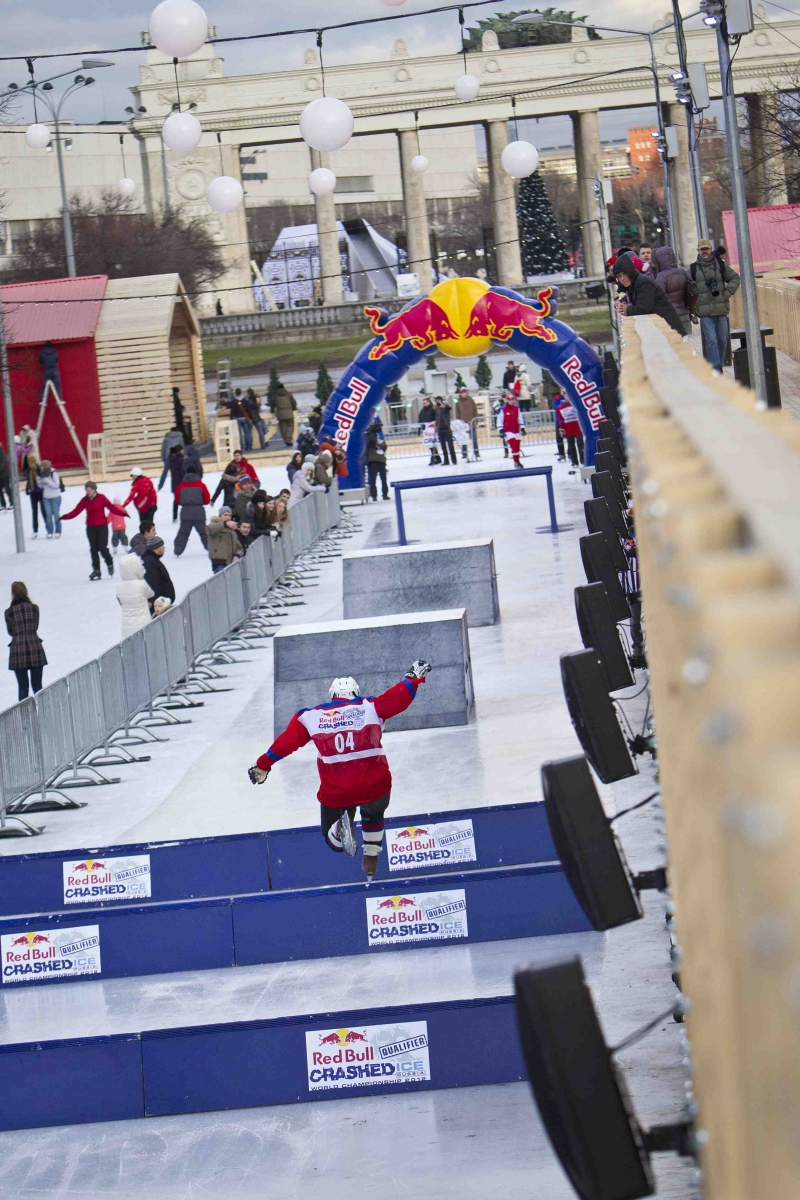 Red Bull Crashed Ice, 2011, Russia