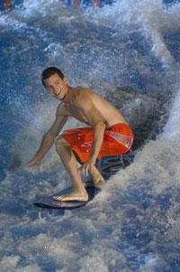 Kalahari surfer