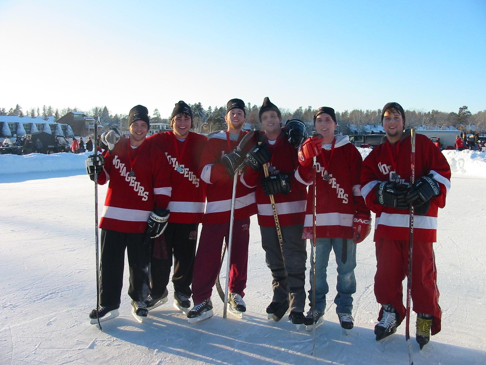 Pond Hockey at Ice Fest, Breezy Point