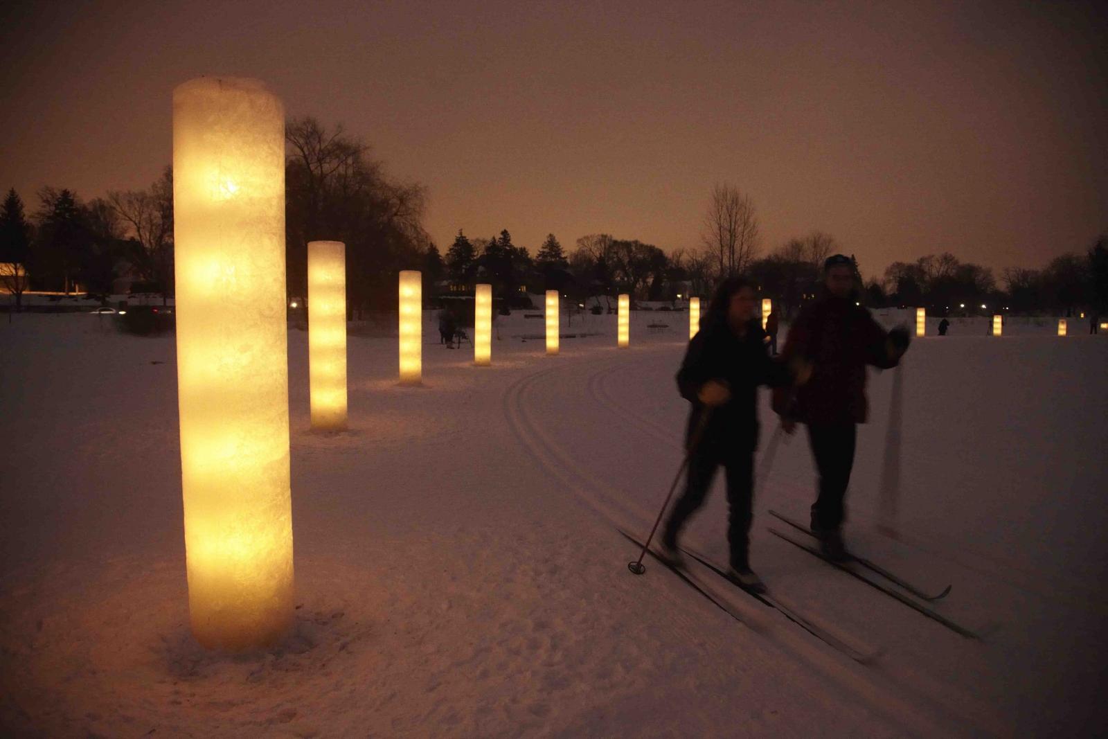 City of Lakes Luminary Loppet 2011