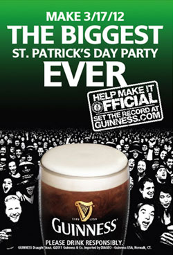 Guinness St. Patrick's Day Party