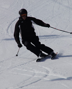 skiing Afton Alps