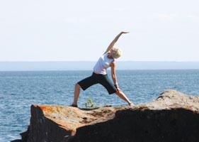yoga madeline island