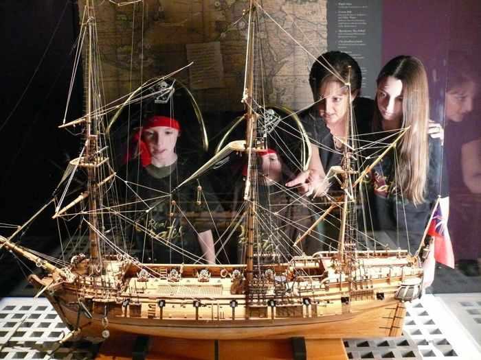 Real Pirates exhibit, Science Museum of Minnesota