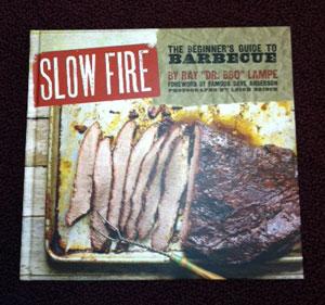Slow Fire cookbook