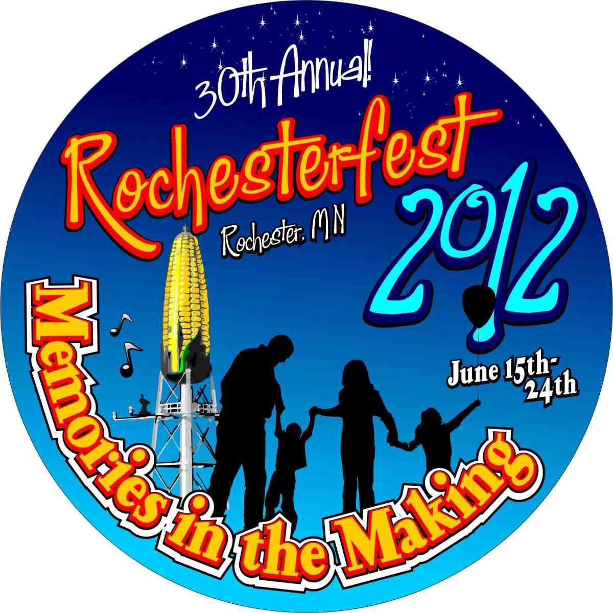 Rochesterfest Button