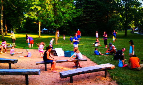 Naturalist program at Baker Park