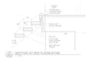 Staircase floorplan