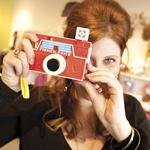 Pacifier vintage camera