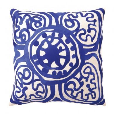 Pillow in monaco blue