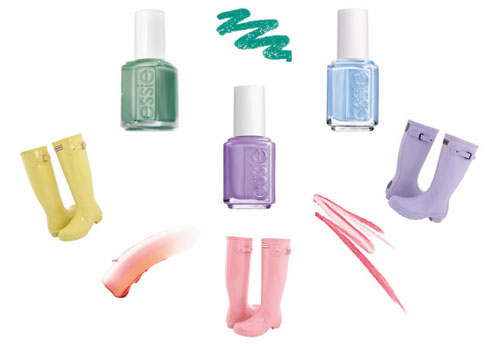 spring color nails