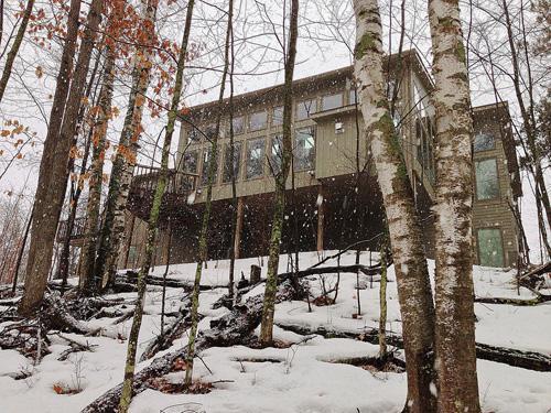 retreat cabin