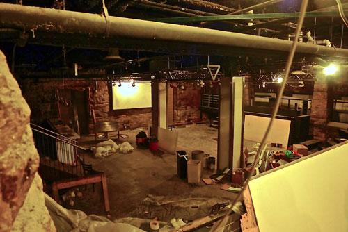 Mason's Restaurant Basement