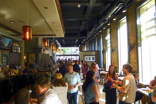 Mason's Restaurant inside