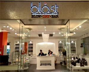 blast blow dry bar at mall of america