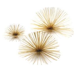 Gold Urchins