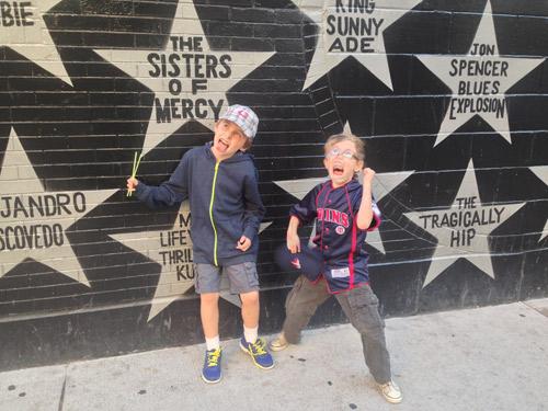 Kids GWARing