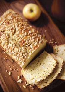 Apple Pine Nut Bread