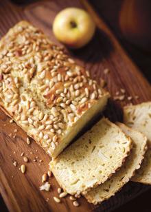 Apple Pine Nut Bread