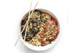 World Street Kitchen's Yum-Yum Rice Bowl