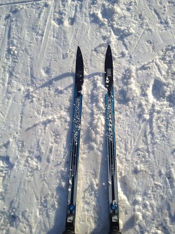Anna's skis