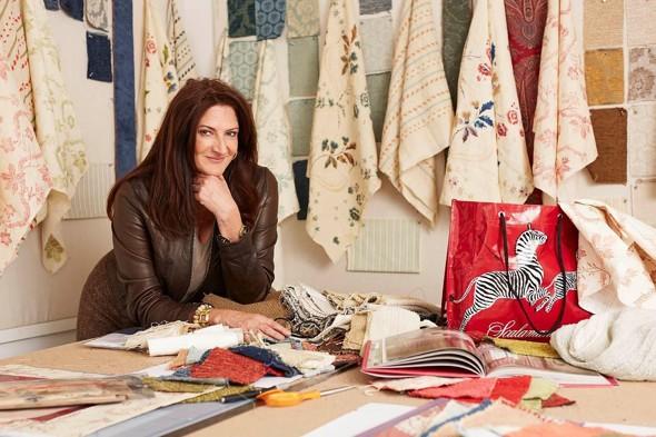 Kathryn and fabrics