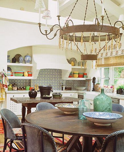 Kitchen designed by Kathryn M Ireland