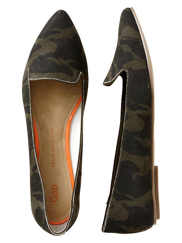 Gap Printed Pointy Sandals