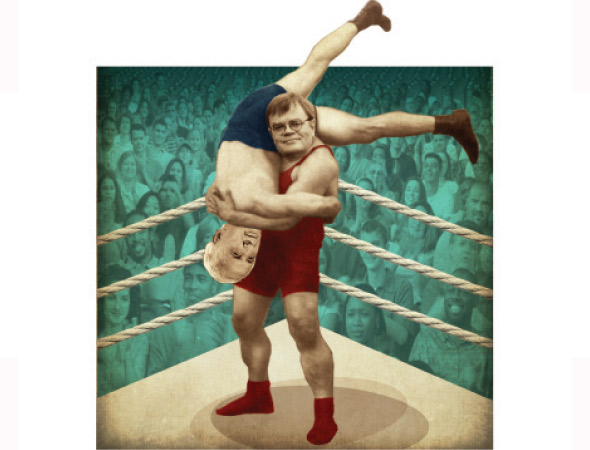 Garrison Keillor versus Sid Hartman