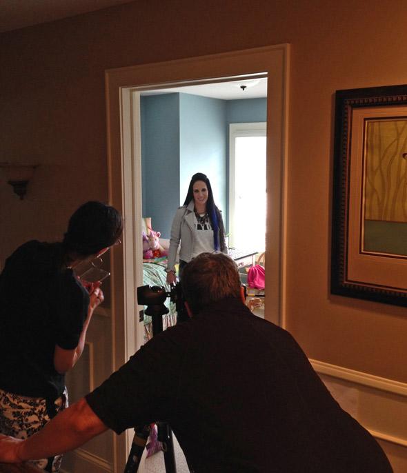 Kat Perkins Style Behind the Scenes