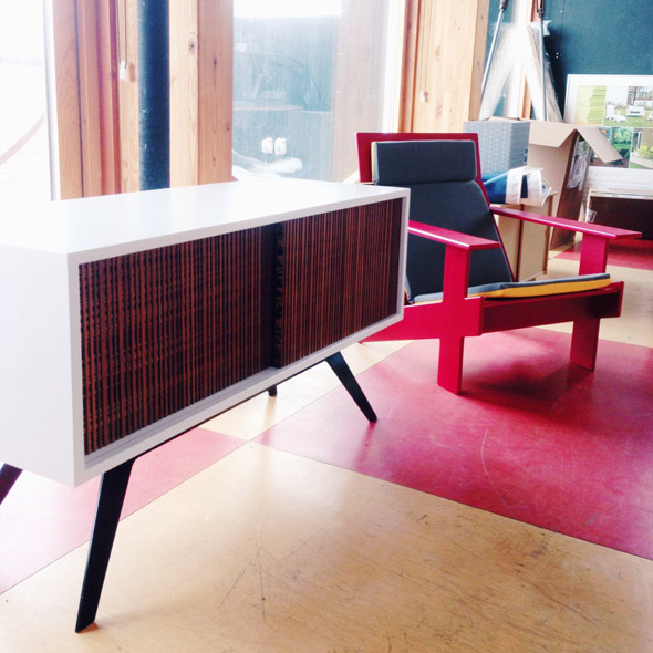 Loll credenza and chair