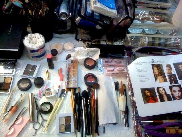 Fatima Olive Makeup