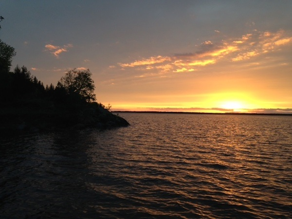 Lake of the Woods sunset