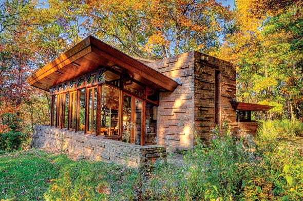 Frank Lloyd Wright Seth Peterson Cottage