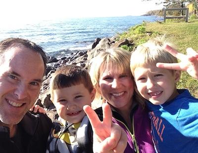 Family at Larsmont