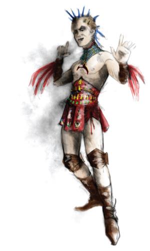 A Midsummer Night's Dream costume sketch