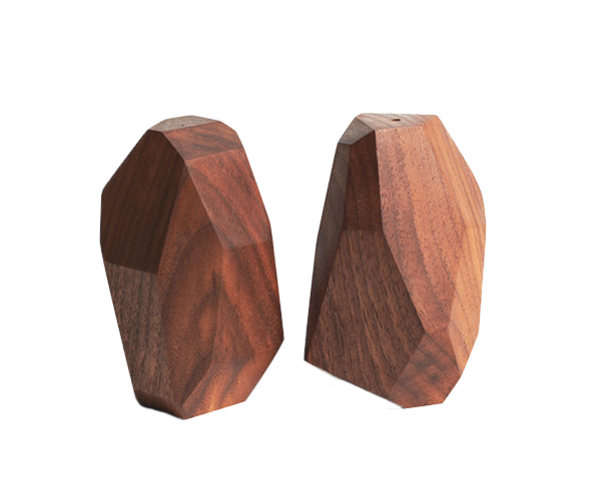 Unsold Studio's salt and pepper shakers