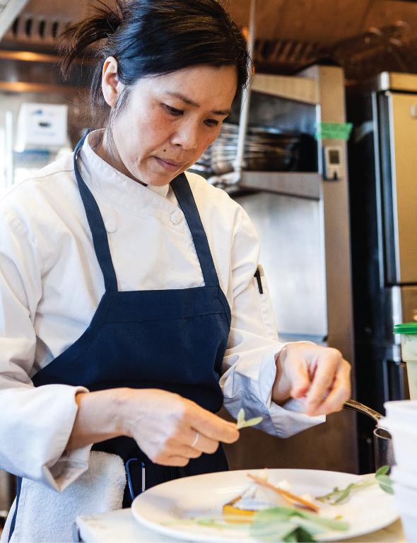Chef Khanh Tran of the Bachelor Farmer