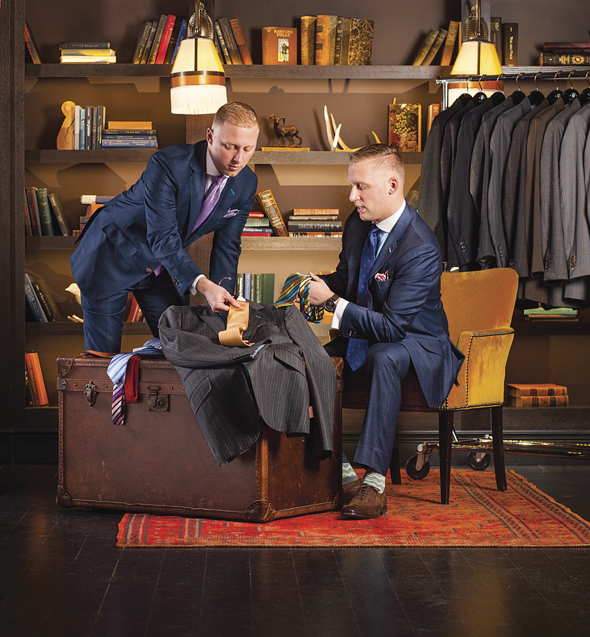 Kenny and Danny King: King Brothers Clothiers