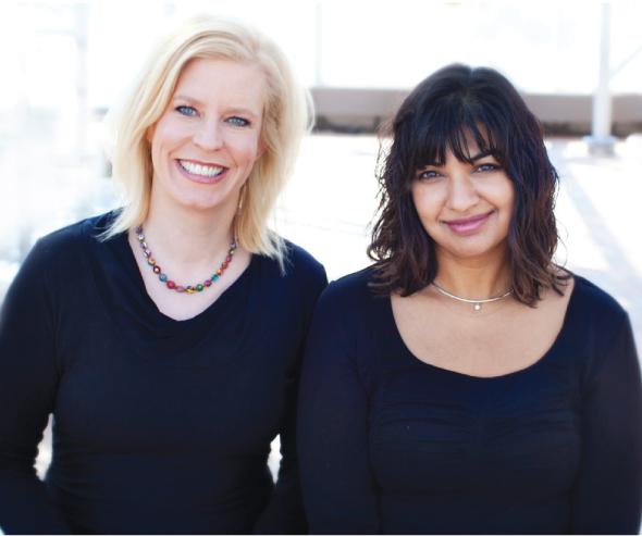 Malinee Saxena and Jane Moore