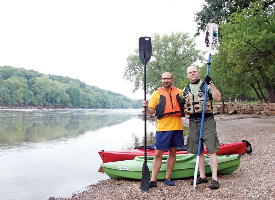 Mississippi kayaking