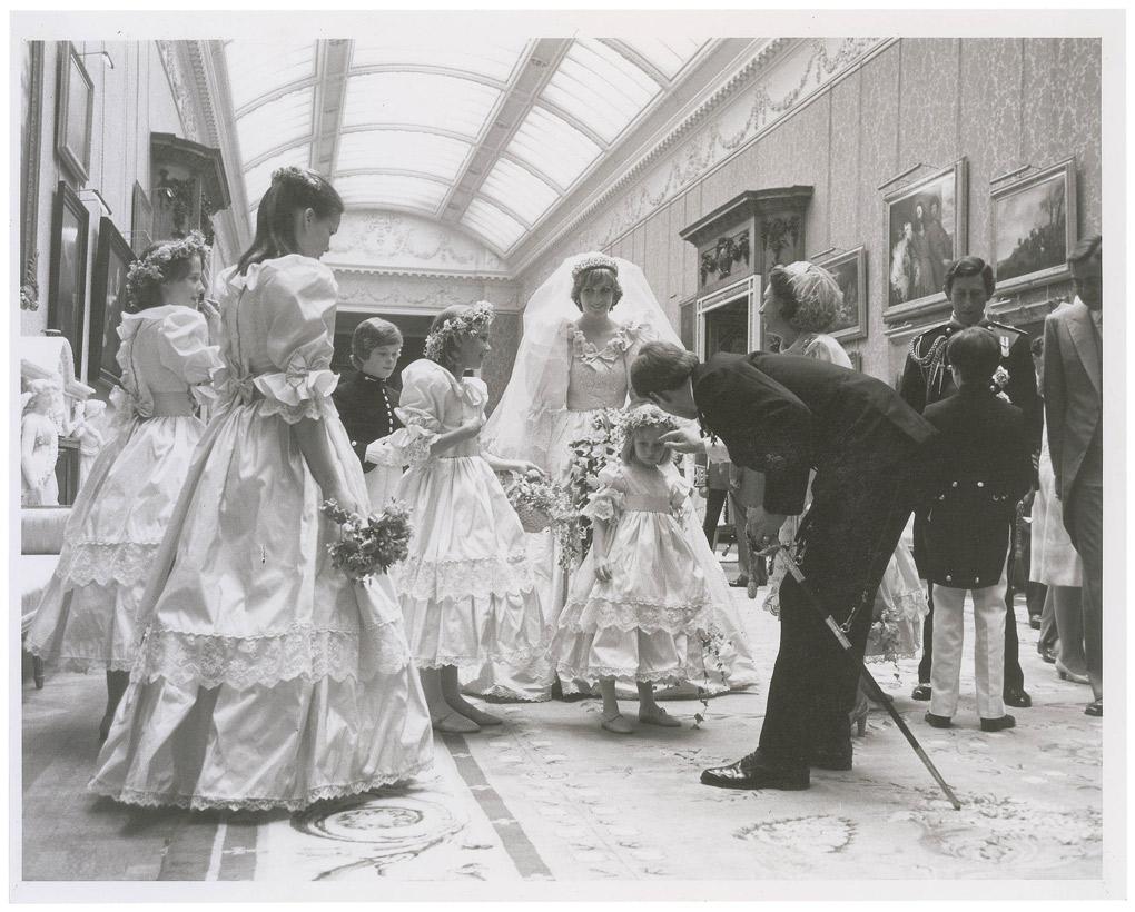 Prince Charles and Diana's 1981 wedding
