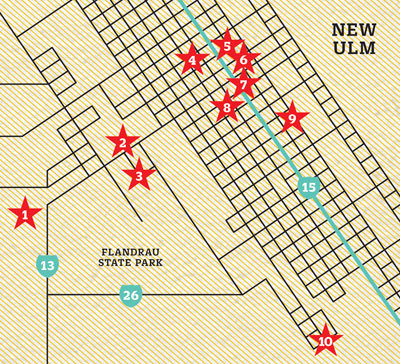 New Ulm Map