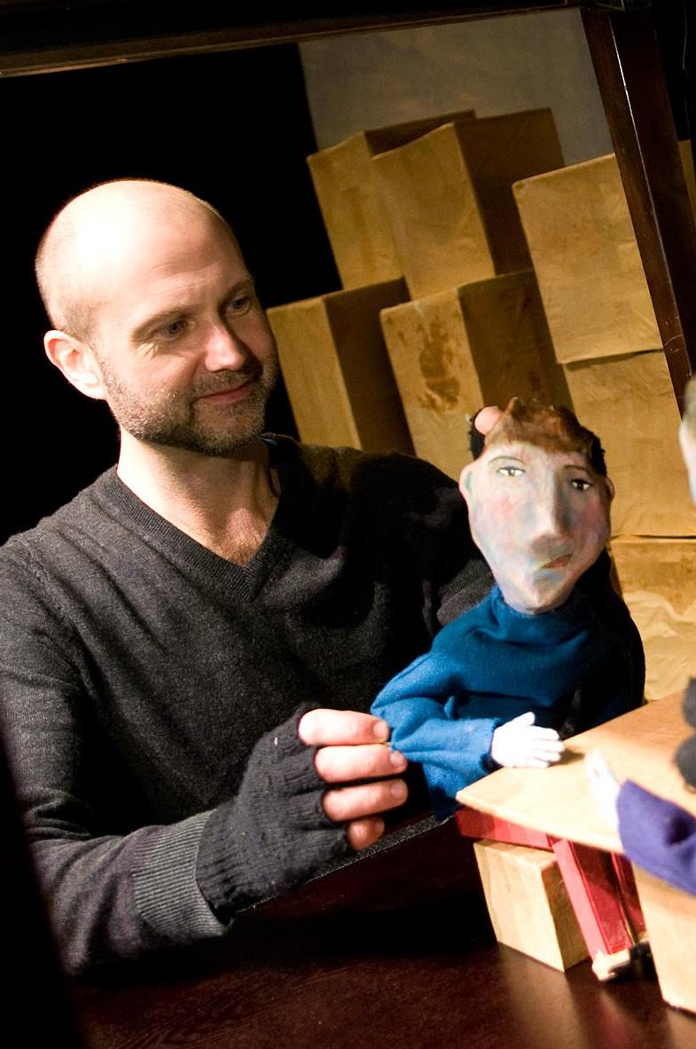Bart Buch In the Heart of the Beast Puppet and Mask Theatre Ode to Walt Whitman
