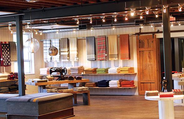 Faribault Woolen Mills Showroom
